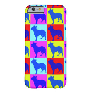 Blue Heelers Color Wall Barely There iPhone 6 Case