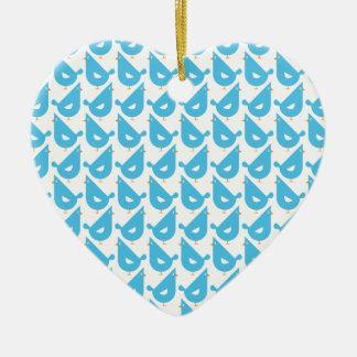 Blue Hen Christmas Ornament