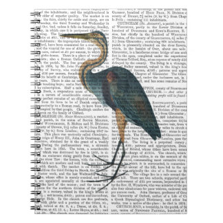Blue Heron 3 Spiral Notebook