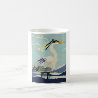 Blue Heron Bird Mug