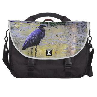 Blue Heron Computer Bag