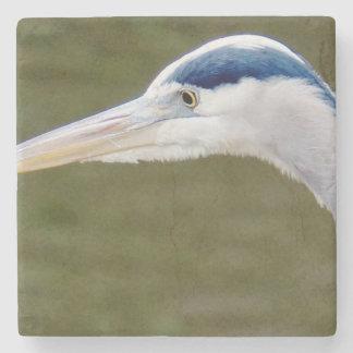 Blue Heron detail Stone Coaster
