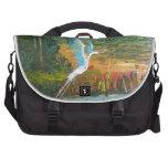 Blue Heron Flying Computer Bag