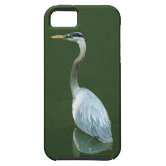 Blue Heron going fishing iPhone 5 Cases