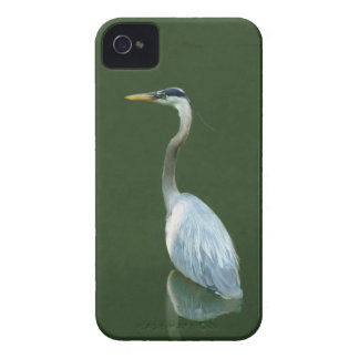 Blue Heron going fishing iPhone 4 Covers