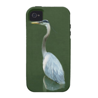 Blue Heron going fishing iPhone 4/4S Covers