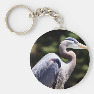 Blue Heron Key Chains