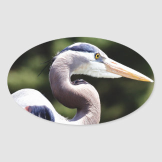 Blue Heron Stickers