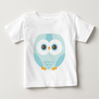 blue hibou for kids tshirt