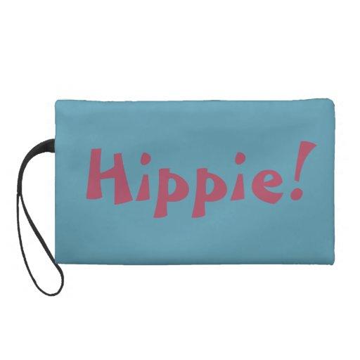 Blue Hippie Bagettes Bag Wristlet Clutch