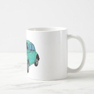 Blue Hippie Car  Classic Mug