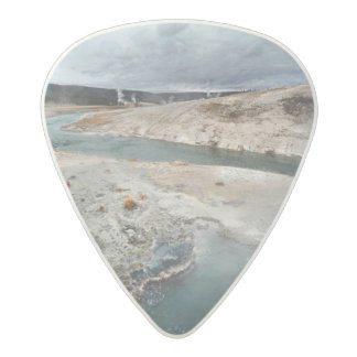 Blue Hole Acetal Guitar Pick