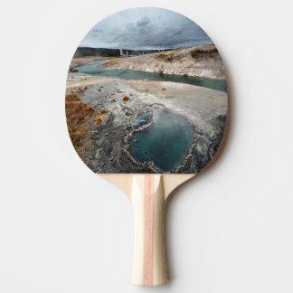 Blue Hole Ping Pong Paddle