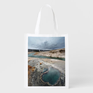 Blue Hole Reusable Grocery Bag