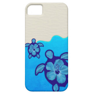 Blue Honu Turtles Case For The iPhone 5