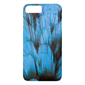 Blue Hooded Pita Feather Abstract iPhone 8 Plus/7 Plus Case