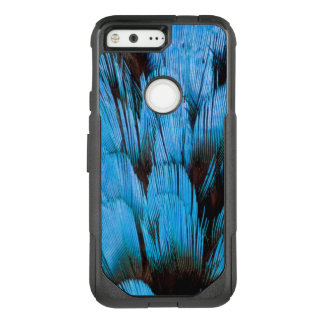 Blue Hooded Pita Feather Abstract OtterBox Commuter Google Pixel Case