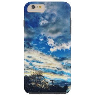 -BLUE HORIZON- TOUGH iPhone 6 PLUS CASE