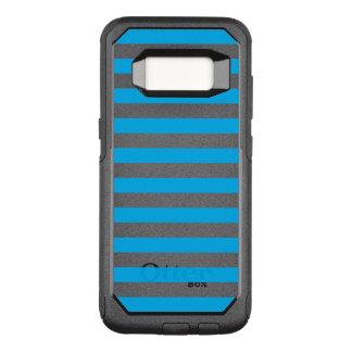 Blue Horizontal Stripes OtterBox Commuter Samsung Galaxy S8 Case