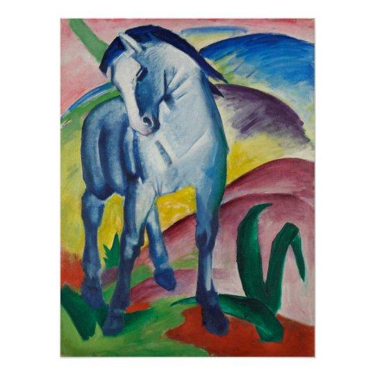 Blue Horse by Franz Marc Vintage Expressionism Art