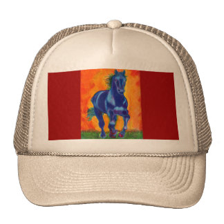Blue Horse Cap