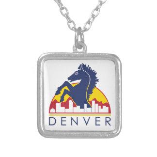 Blue Horse Denver Pendant
