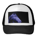 Blue Horse Design Hat