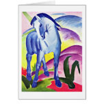 Blue Horse I By Franz Marc Cards
