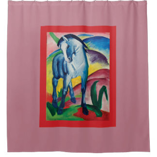 Blue Horse I by Franz Marc Shower Curtain