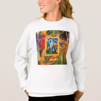 Blue Horse I by Franz Marc Sweatshirt