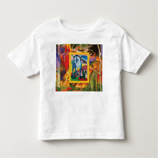 Blue Horse I by Franz Marc Toddler T-Shirt