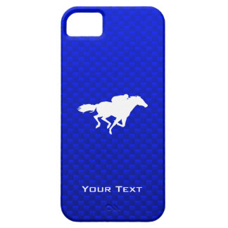 Blue Horse Racing Barely There iPhone 5 Case