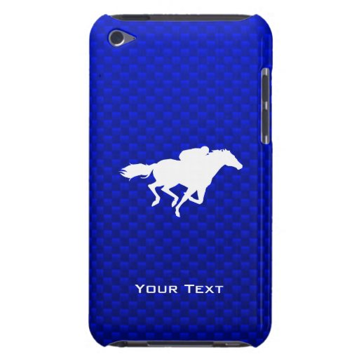 Blue Horse Racing Barely There iPod Cover
