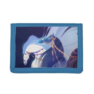 Blue Horses wallet