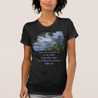 Blue Hosta Trumpets T-Shirt