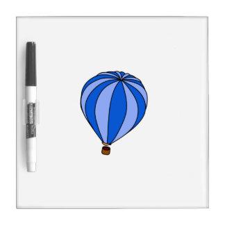 Blue Hot Air Ballon Cartoon Dry Erase Boards