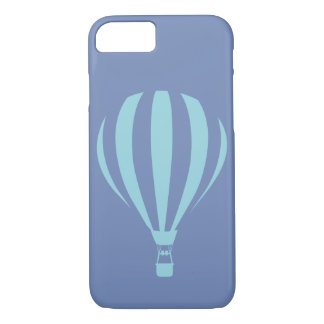 Blue Hot Air Balloon iPhone 7 Case