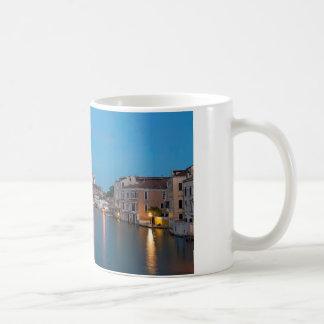 Blue hour Canale Grande Key Chain Basic White Mug