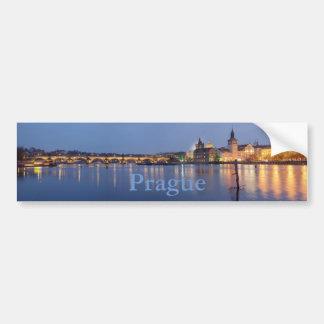 Blue Hour in Prague Bumper Sticker