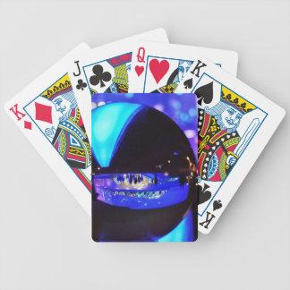 Blue hour through the crystal ball card deck