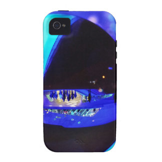 Blue hour through the crystal ball vibe iPhone 4 cover