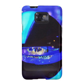 Blue hour through the crystal ball galaxy s2 case