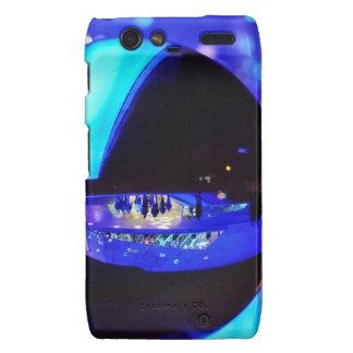 Blue hour through the crystal ball motorola droid RAZR cover