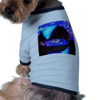 Blue hour through the crystal ball pet shirt