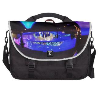 Blue hour through the crystal ball laptop messenger bag