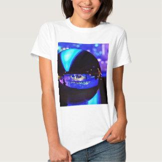 Blue hour through the crystal ball shirts