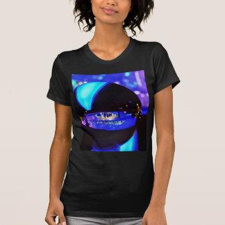Blue hour through the crystal ball t shirt