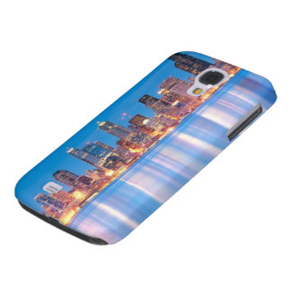 Blue hour view of downtown Seattle Galaxy S4 Case