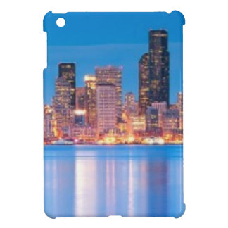 Blue hour view of downtown Seattle iPad Mini Case