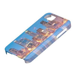 Blue hour view of downtown Seattle iPhone 5 Case